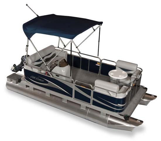 Gillgetter Pontoons Ohio Mini Compact Pontoon Boat Dealer