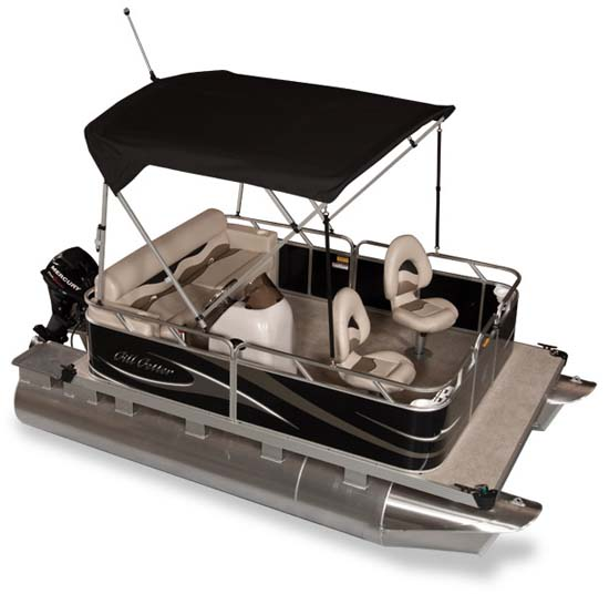 Best small pontoon boats video search engine at for Fishing pontoon boat reviews