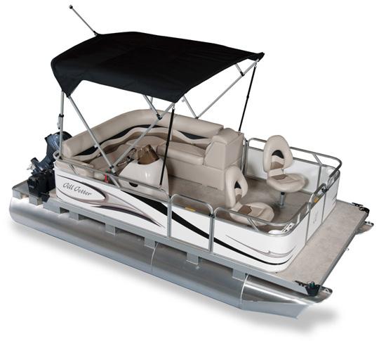 GILLGETTER PONTOONS Ohio Mini Compact Pontoon Boat Dealer