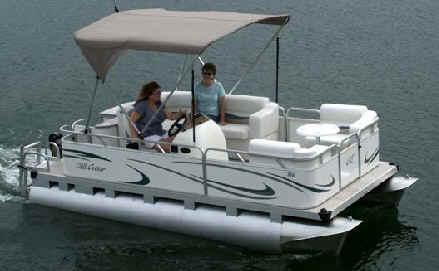 Mini Pontoon Boat From Gillgetter Pontoons