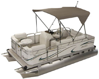 Ohio pontoon dealer offers cruise deluxe from Gillgetter !