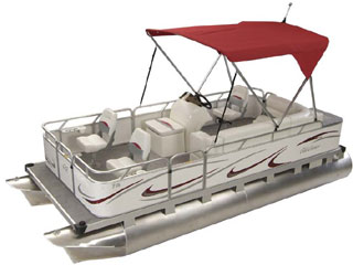 Small Pontoon Boat Sport Deluxe