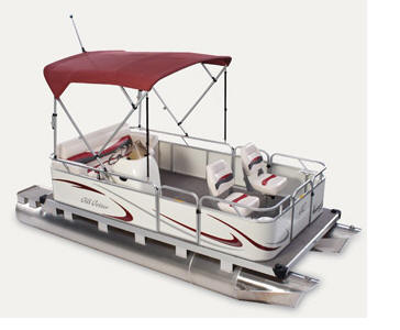 Gillgetter Pontoon Boat Ohio