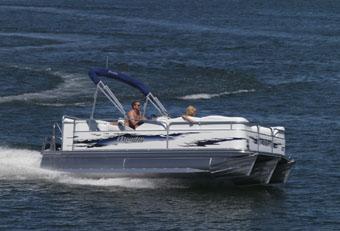 Manitou Pontoon Boats Expoled Cruise !