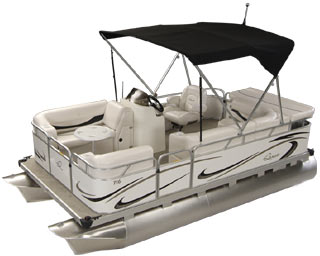 Small Pontoon Boats from Gillgetter Pontoon Dealer!