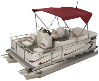 RE FISH SMALL PONTOON BOATS From Gillgetter!