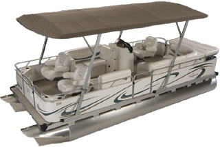 FOR SALE SMALL PONTOON BOATS at OHIO GILLGETTER DEALER!