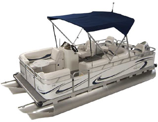 XRE CRUISE SMALL PONTOON BOATS, Dealer for OHIO