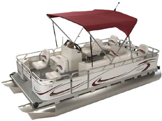 XRE FISH OHIO GILLGETTER SMALL PONTOON BOATS DEALER!
