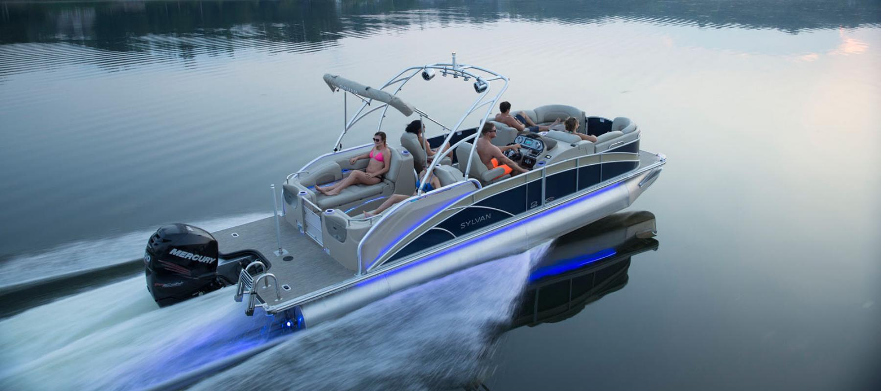 Pontoon boats ohio sylvan boats for Syvlan
